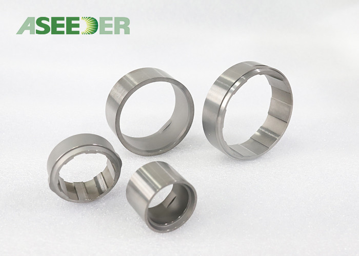 Sliver Color Tungsten Carbide Sleeve Bearing Bushing High Surface Roughness